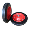 Durable Steel Rim 13x3 Wheelbarrow Solid Rubber Wheel