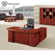 Low Price Paper MDF Office Desk Veneer Wooden Manager Table Paper Decoration Table