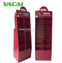 China supplier cardboard display stand recyclable free standing display unit for toy