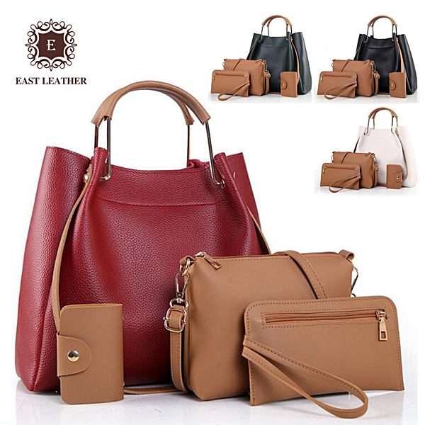 E2351 Alibaba china new design cheap price 4 in 1 set dubai handbags