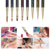 Cat Eye Rhinestone Acrylic Nail Painting Pen Brush Set