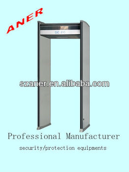 Good Security Guard Equipment,Body Scanning Machine Airport With  (sound&light) Alarm For Gym,Exhibition Used Airport Equipment - Buy Used  Airport