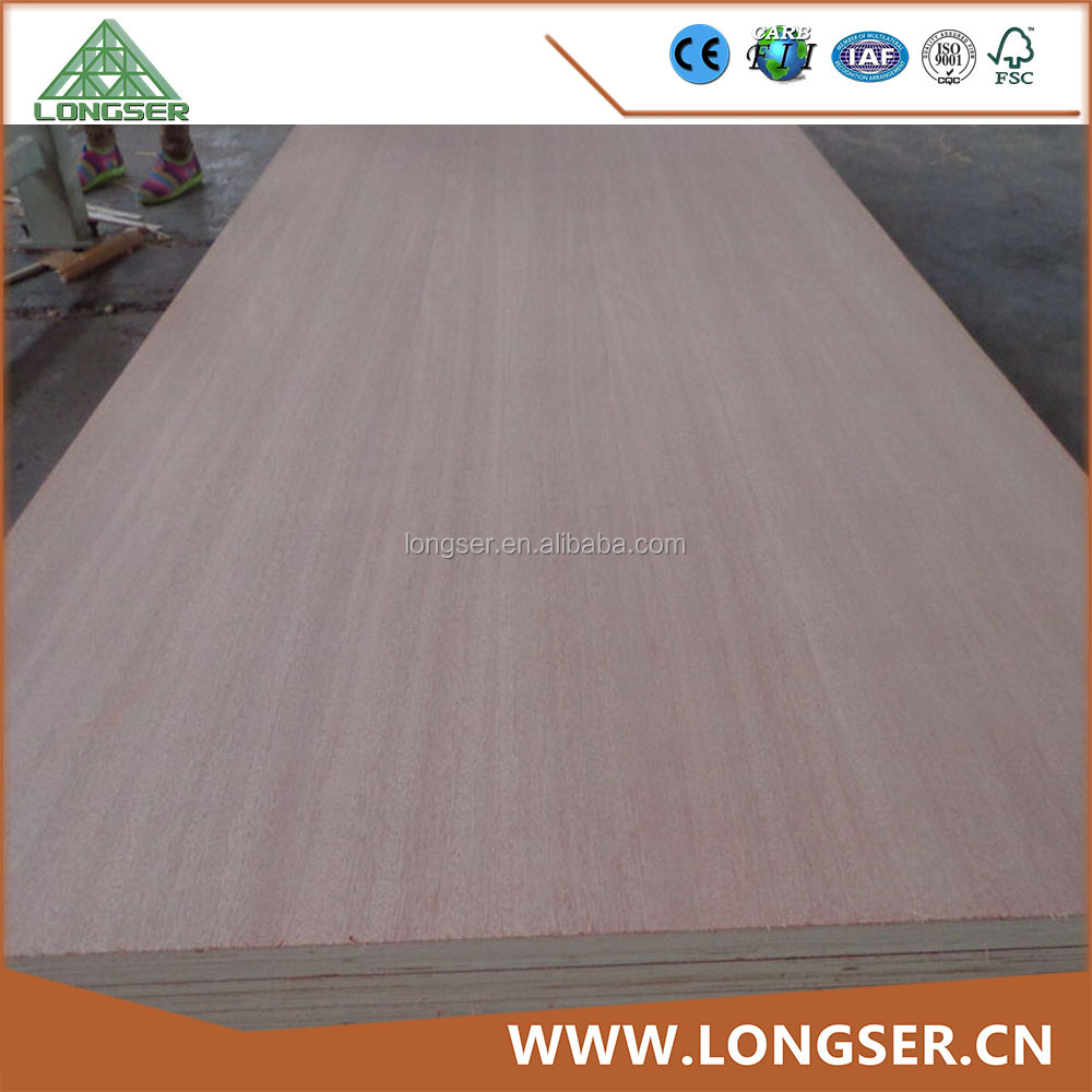 Hot Press Poplar Core 12mm Solid Veneer Plywood for Sale