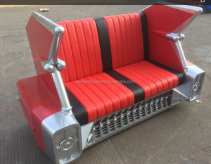 Industrial RETRO CLASSIC Cadillac Metal CAR SOFA