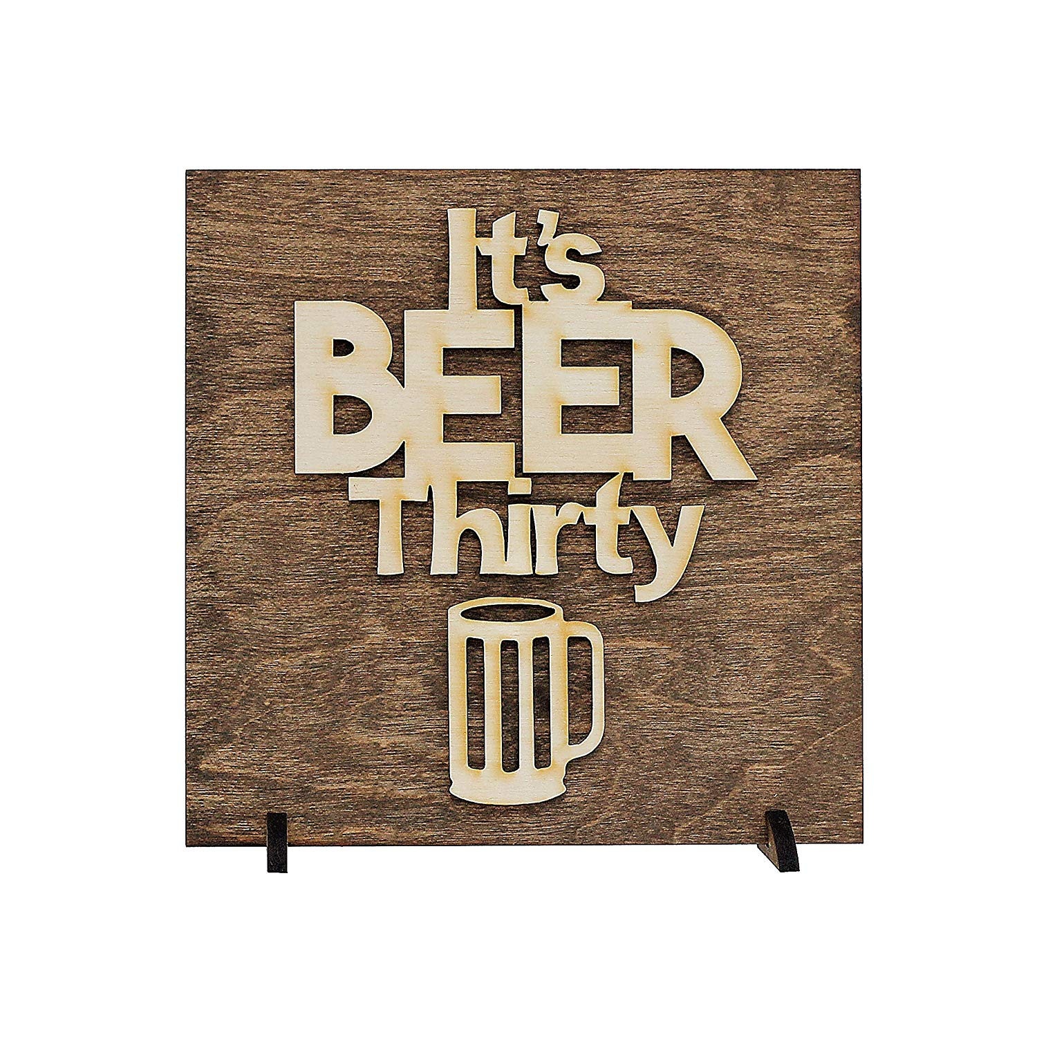 Gift Idea for Beer Lover, Man Cave, Laser Cut Wood Sign Art, Christmas, Stocking Stuffer