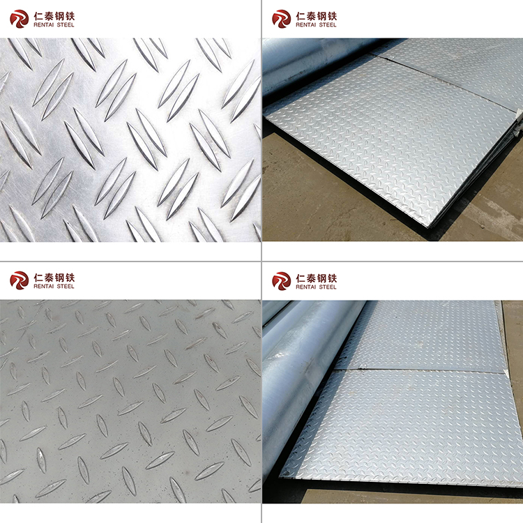 hot Rolled chequered plate with tear drop pattern, checkered plate