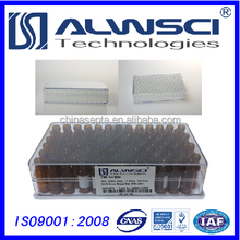 PMMA/Acrylic 100pcs/pk 2ml Agilent clear 9-425 screw glass vial