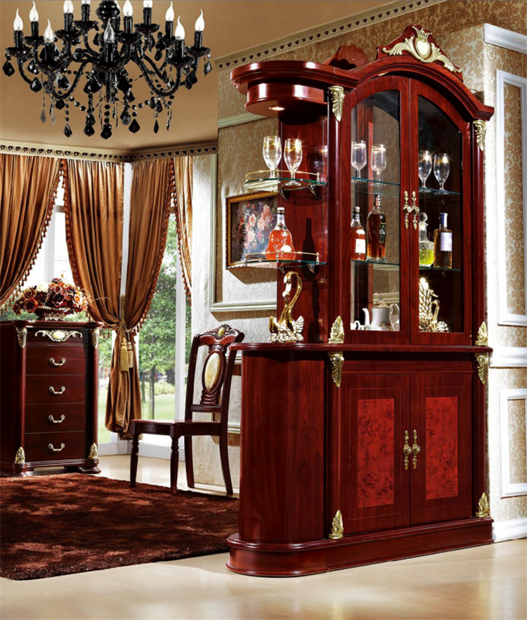Living Room Furniture Partition Luxury Wooden Living Room