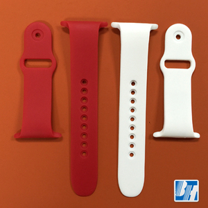 Women kids interchangeable silicone integrated watch band