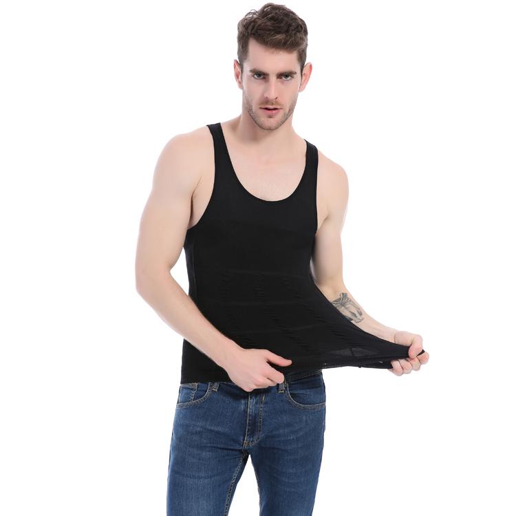 Insta Slim - Insta Slim Compression Muscle Tank, White