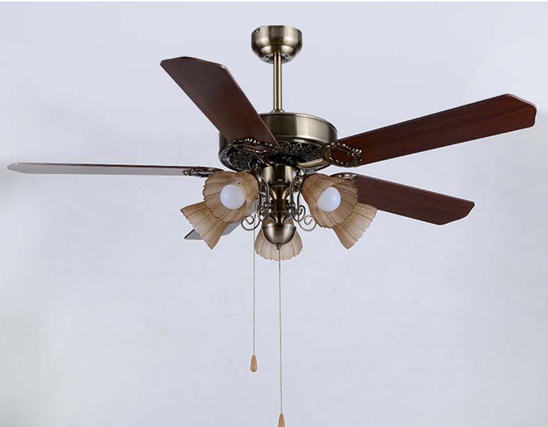 Luci ventilatore a soffitto apparecchio americano annata ventilatore