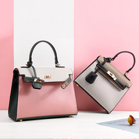 fashion designer ladies shoulder bag Factory custom classy pu leather women handbags