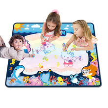 Grote baby speel matten water magic schrijven doodle board <span class=keywords><strong>aqua</strong></span> magic drawing mat