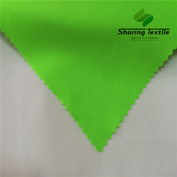 Factory 196T 228T 320D Bright Green Bright Safety Green Bright Hi-Vis Green Green Neon Green Taslon Taslan Fabric