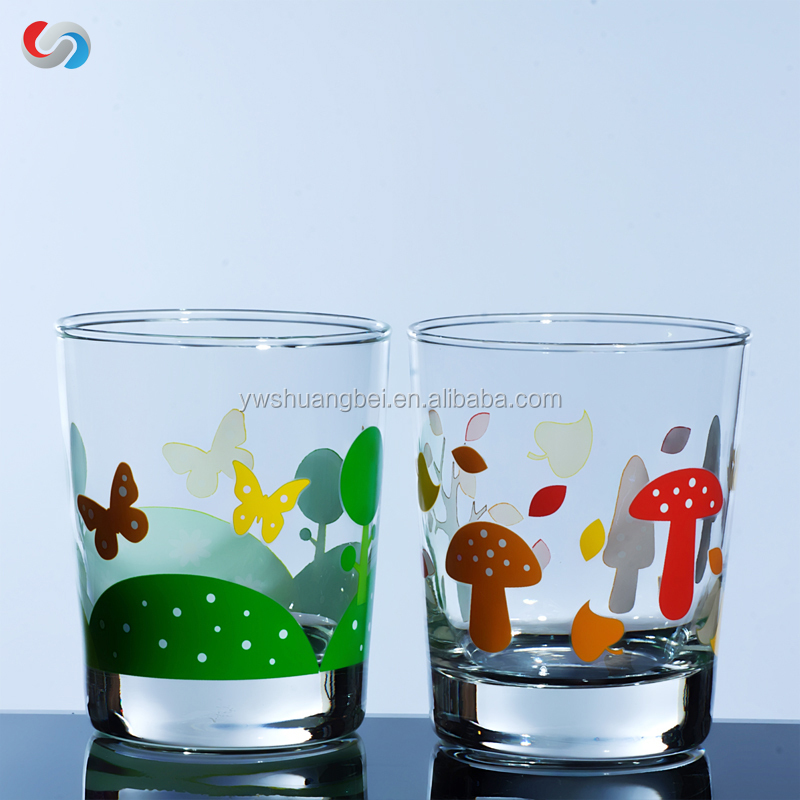 Customized Printing Highball Drinking Glass Cup Tumbler With New Design