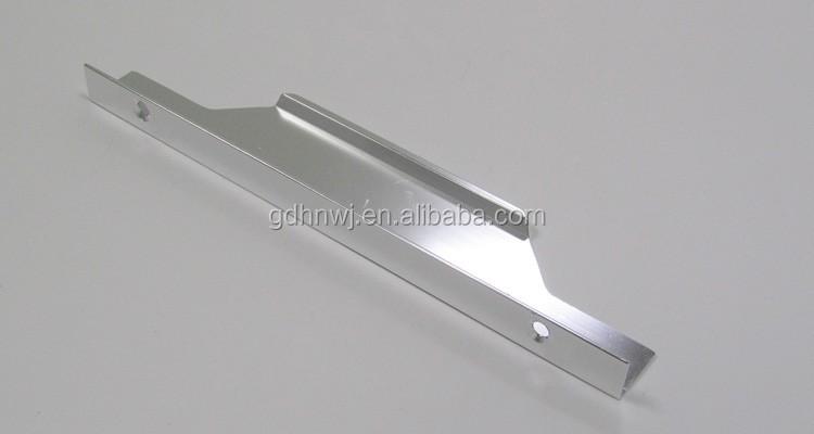invisible poign e profil en aluminium pour meubles de. Black Bedroom Furniture Sets. Home Design Ideas