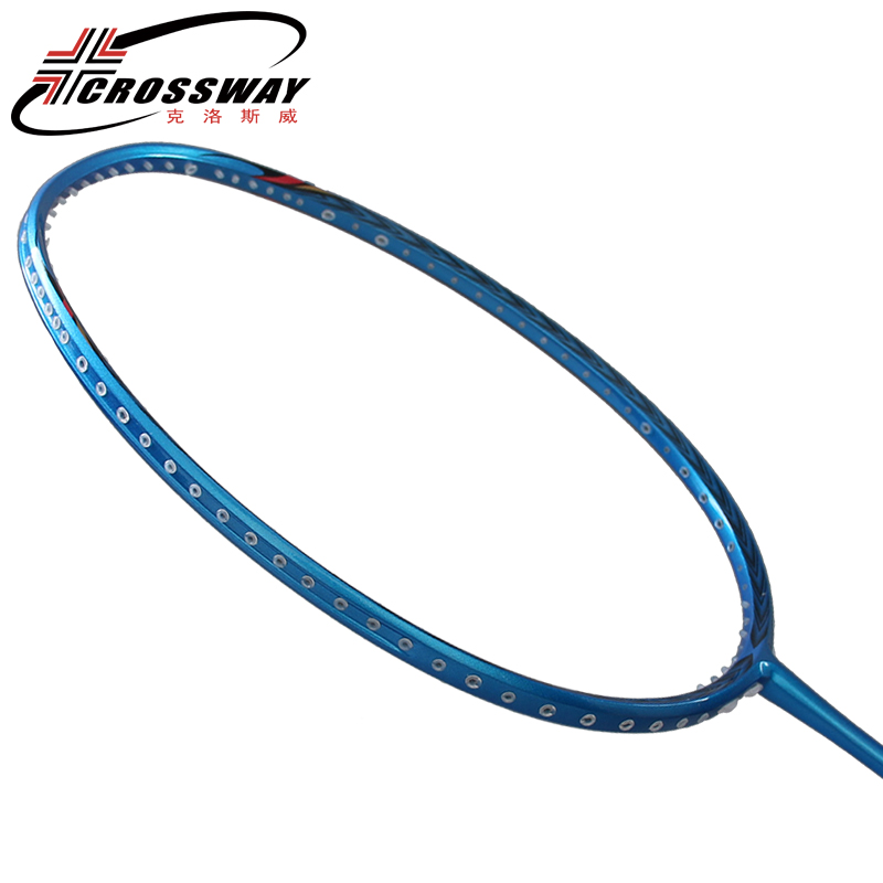 wholesale OEM custom brand professional full carbon high modulus graphite badminton racket with high tension 30lbs
