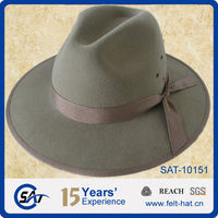 2012 new fashion 100% wool felt ladies headwear
