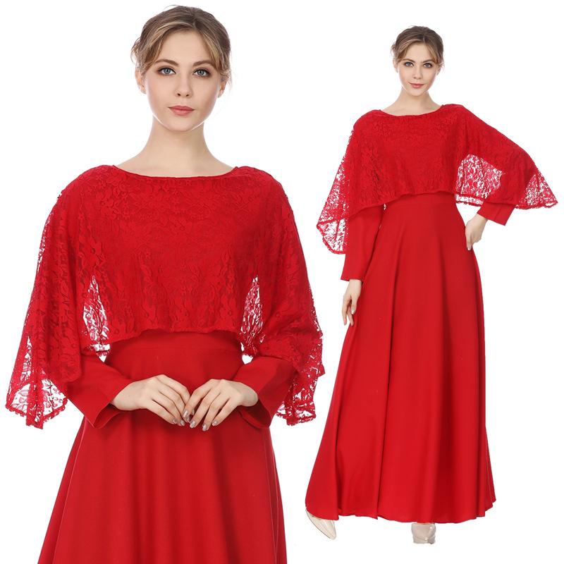 ファッションレディースインドネシア教徒ロングドレス卸売トルコマキシ服工場