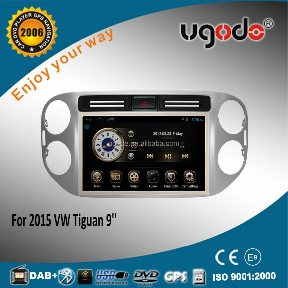 Android tablet 9 inch auto car radio for vw Jetta radio tuner 2015 factory supply
