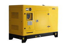 Yellow silent generator , 40kw diesel generator power by cummins engine