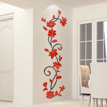 TV Background Room Wall Decoration Calligraphy And Painting 3D Acrylic Wall Stickers