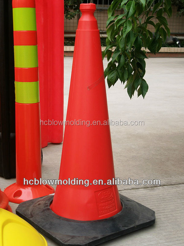 blow mold colored traffic cones,traffic water barries,water barries hdpe