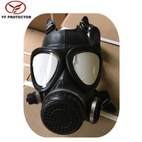 Riot gas mask for military supply