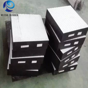 Ruida high quality neoprene epdm rubber bridge support bearing pad for construction