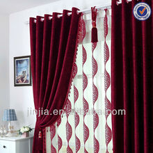 Curtain Manufacturer Small MOQ European Style blackout free dress fabric samples