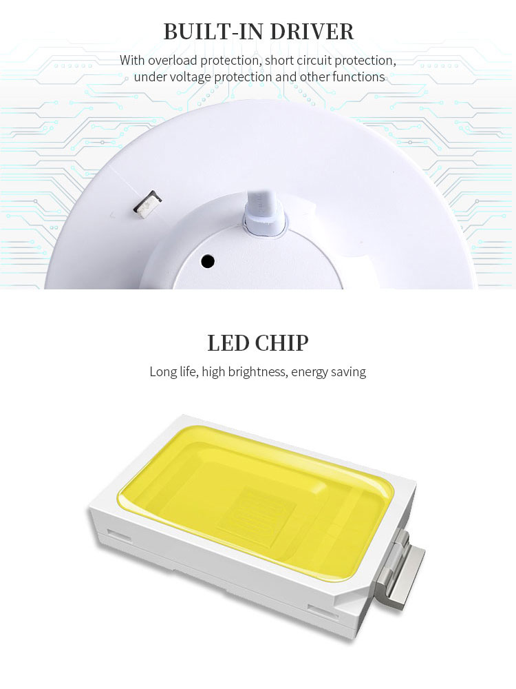 Wolink Factory price 5W ip40 surface mounted RGBW recessed indoor led downlight