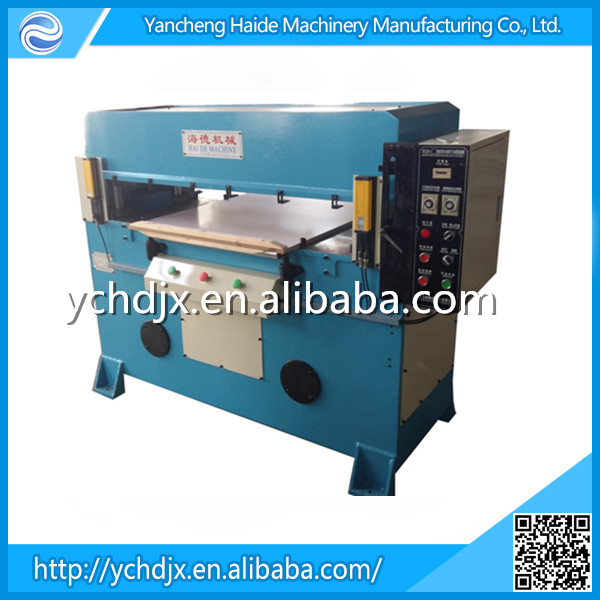 Sponge foam die cutting machine