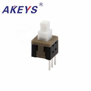 Kft-5.8c 3pin normally closed tact switch smart Momentary Action pcb start button switch