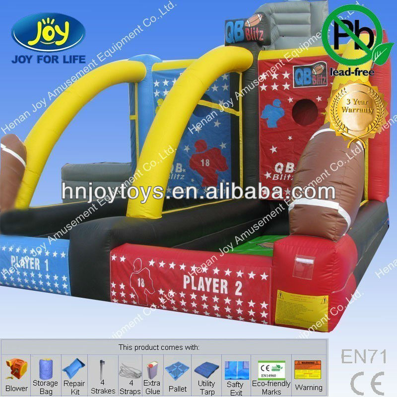 Athletic Inflatable Basketball Game Products for Match