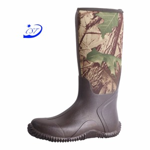 Eco-Friendly Professional Comfortable Camouflaged For Men Hunting Boots Made In China