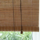 HAOYAN bamboo curtains roman and roller blinds for manufactured home
