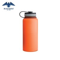 Wide Mouth BPA Free Double Walled Vacuum Insulated Stainless Steel Sports Water Bottle