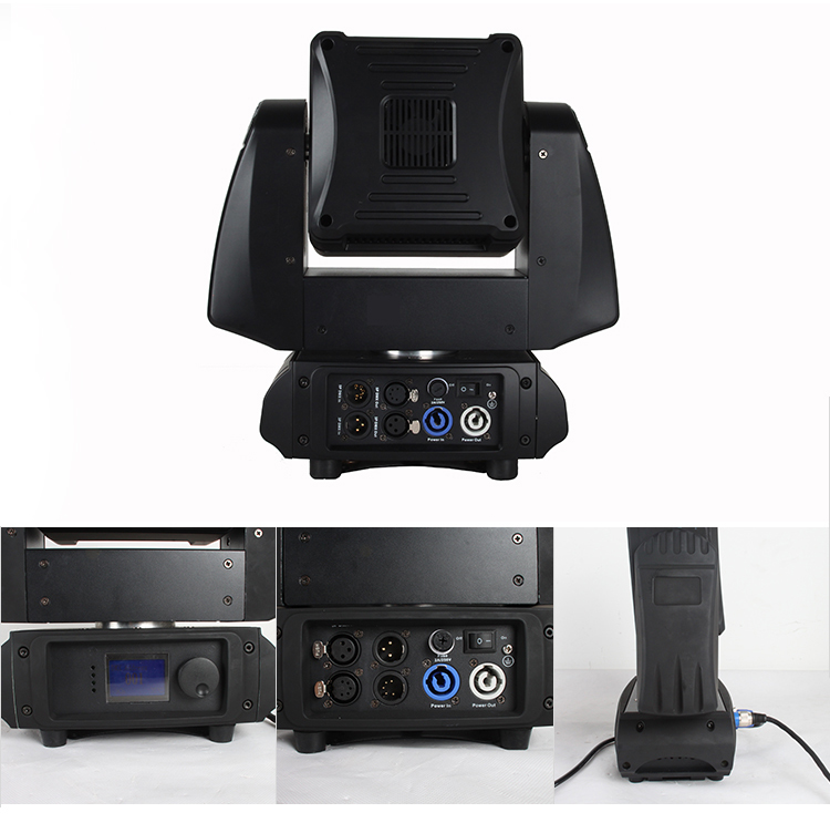 Individual Pixel Control 9Head 10w Stage Matrix Beam Led Moving Head Light 9 led matrix