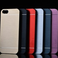 2016 Factory Price Aluminum Metal Case Phone Back Cover Case For iphone 6 6s