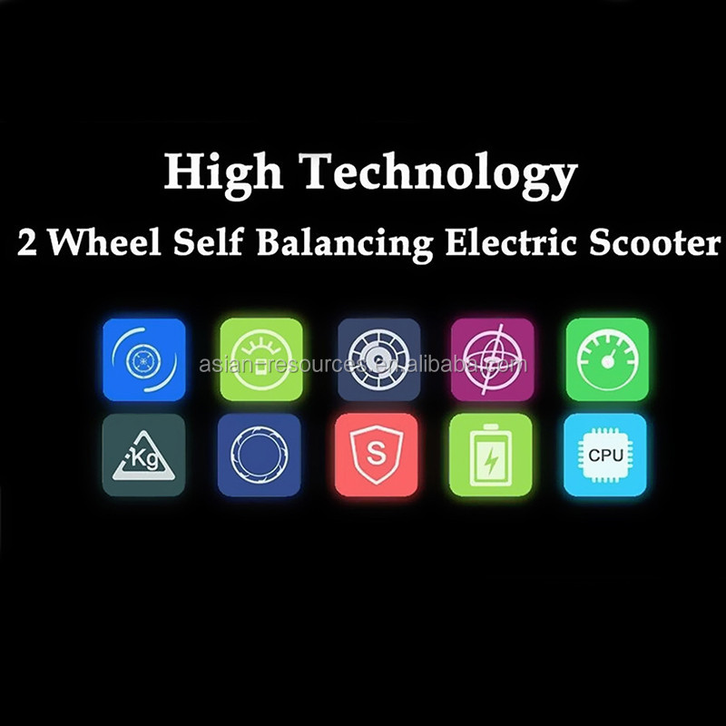 Professional 4.4AH Electric balance scooter 2 wheel Self Scooter Smart Scooter factory selling