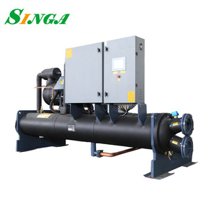 R22 Commercial water cooled Type Screw chilling machine cooling chiller chiller unit