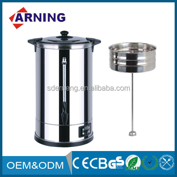 High Quality Big Capacity 35L Stainless Steel Electric Tea Urn