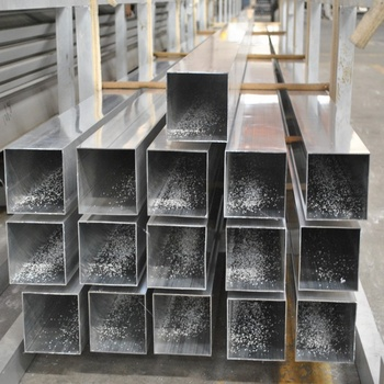 Extruded aluminium 30x30 40x40 50x50 square tubes in stock with different sizes and thickness
