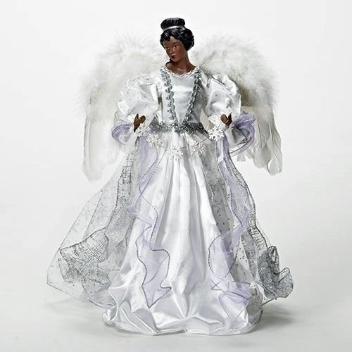 Buy 16 African American Diva Angel Christmas Tree Topper With