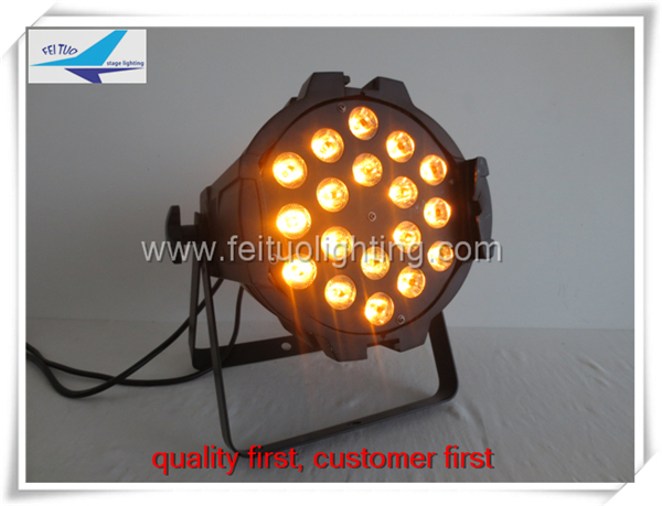 Dj Lights Rgbaw Uv Led Par Light 18x18w Led Par 64 Stage Lighting ...