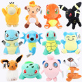 20 22cm anime toys Children Gift Cute Soft Toy Cartoon Pocket Monster Anime Kawaii Baby Kids
