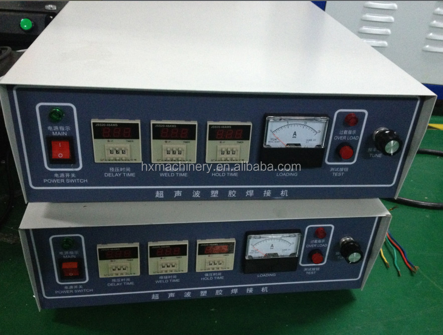 Semi-auto Memories Card Ultrasonic Welder