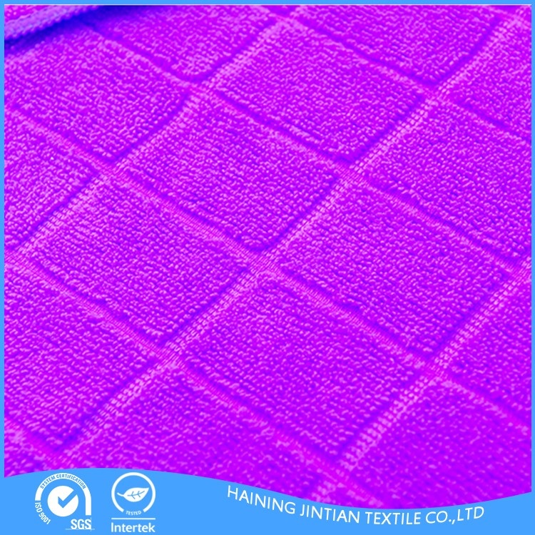 Alibaba china supplier 2018 the best quality microfiber cleaning cloth