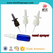 Custom products top quality free samples 18 410 20 410 closure plastic medical usage nasal sprayer for medical liquid