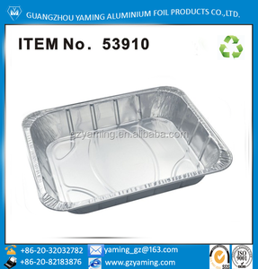 pans type cookware disposable roasting aluminium foil serving pan half size steam table pan use for food ITEM NO 53910